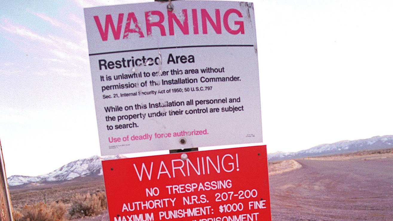 Storm Area 51 Facebook Event Restriction Military