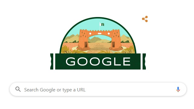 google goes green pakistan independence day