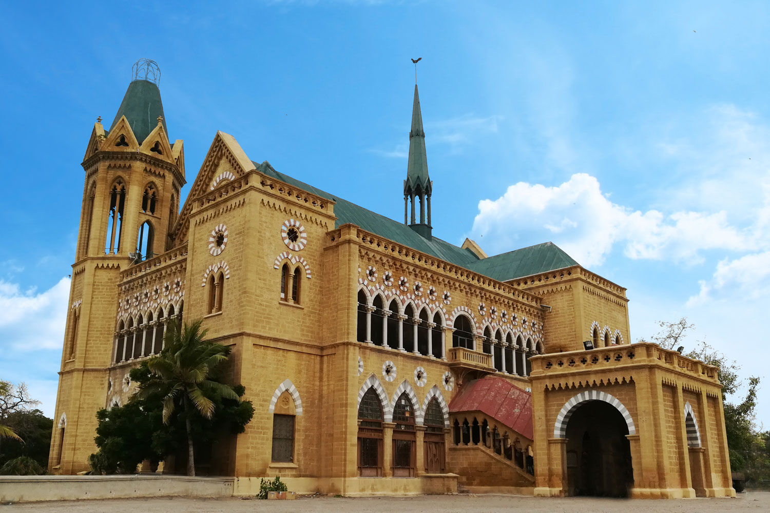 Frere Hall Of Karachi