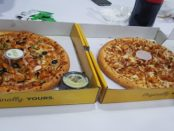 best pizza in town karachi
