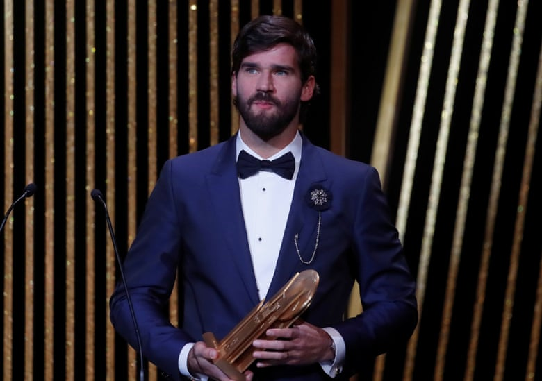 alisson liverpool ballondor winner