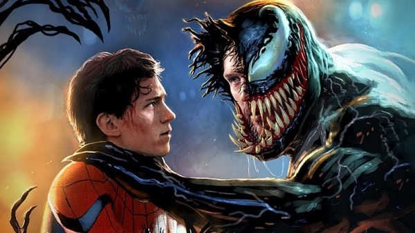 venom 2 with spider man fight duel knightedgemedia