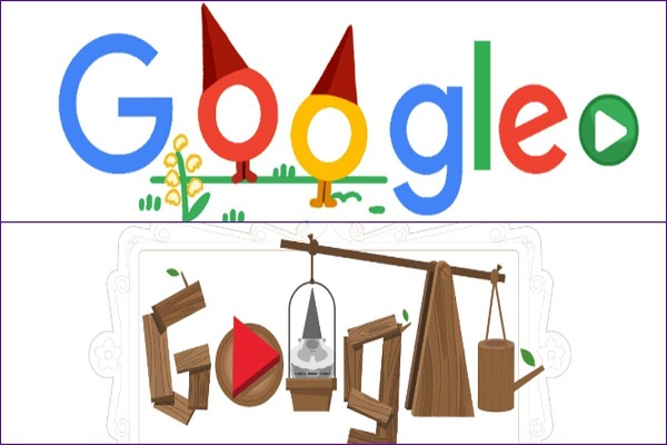 Popular-Google-Doodle Games Garden Gnomes Game